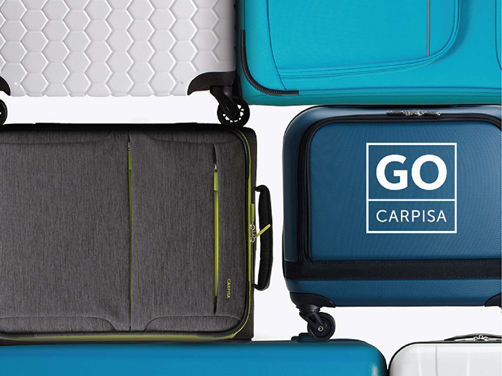 Carpisa Go-Tech Luggages